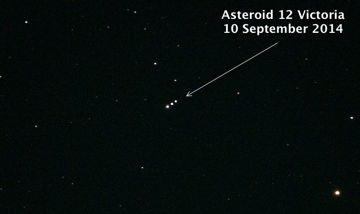 Cassiopeia Observatory - Report - Asteroid 12 Victoria