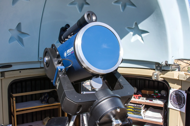 cassiopeia observatory - review - thousand oaks optical solar filter