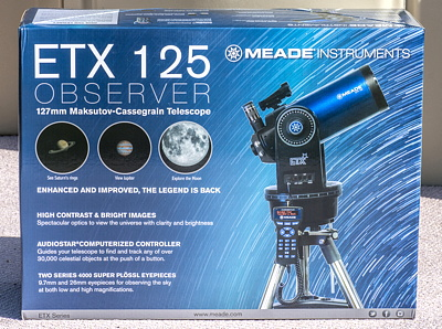 Cassiopeia Observatory - Review - Meade Instruments ETX-125